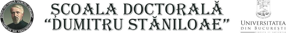 """Școala Doctorală """"Dumitru Stăniloae"""""""